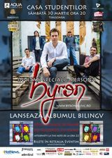 Concert de lansare Byron la Casa Studentilor din Timisoara