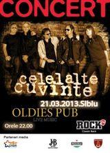 Concert Celelalte Cuvinte in Sibiu
