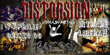 Distorsion: concert la Pitesti in club Barock