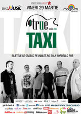 Concert Taxi in True Club Bucuresti