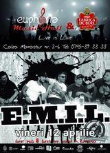 Concert E.M.I.L. in Cluj-Napoca