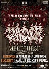 Concert Vader si Melechesh in aprilie la Timisoara