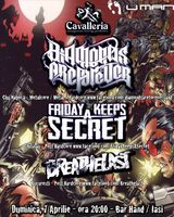 Diamonds Are Forever, Friday Keeps A Secret, Breathelast: Concert in Iasi