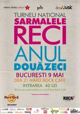 Concert aniversar Sarmalele Reci la Hard Rock Cafe pe 9 mai