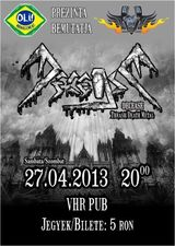 Concert Decease la VHR Pub pe 27 aprilie, 2013