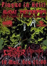 Concert Akral Necrosis - Plague In Hell - pe 10 mai la Private Hell