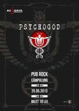 Concert Psychogod pe 25 mai la Pub Rock din Campulung