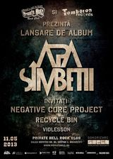 Concert lansare album Apa Simbetii pe 11 mai la Bucuresti