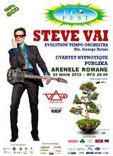 Concert Steve Vai la Arenele Romane pe 25 iunie