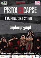 Concert Pistol Cu Capse pe 1 iunie in Iasi