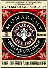 Concert Monarchy si Soul Rage in iunie la Fabrica
