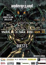 Concert Targ3t la Underground Pub din Iasi