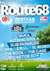 ROUTE68 SUMMERFEST 2013 la Deva