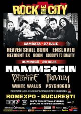 Poze Rock The City 2013: Concert Rammstein la Bucuresti in iulie 2013