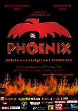 Concert Phoenix la Vaslui pe 18 august