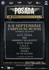 Festivalul Posada Rock 2013 in septembrie la Campulung Muscel