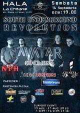 South Underground Revolution 2, in Craiova, la Hala La Chitarre, Sambata 14 Septembrie