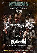 Concert Finntroll, Tyr, Skalmold in septembrie la Silver Church din Bucuresti