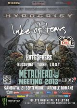 Hypocrisy, Lake Of Tears si HateSphere in Romania la METALHEAD Meeting 2013
