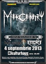 Concert Mercenary si Omnium Gatherum in septembrie la Bucuresti