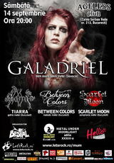 Concert Galadriel si Tiarra la Ageless Club din Bucuresti