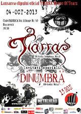 Lansarea clipului oficial TIARRA, House Of Tears, in club Fabrica, pe 4 Octombrie