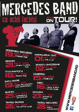 Concert Mercedes Band in Truda Pub din Cluj-Napoca, pe 18 Octombrie