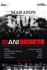 Maraton live 10 ani de Sunete