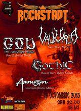 Concert GOD, VALKYRJA si GOTHIC in Brasov, Sambata 19 Octombrie