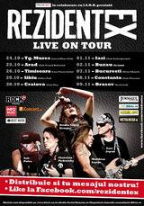 Concert Rezident EX la Brasov, in Club Rockstadt, pe 9 noiembrie