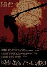 Concert DorDeDuh + Kistvaen la Cluj Napoca, in The Shelter, pe 14 Noiembrie