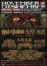NDM Fest la Bucuresti: Concerte Hail Of Bullets si Impaled Nazarene