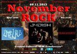 NOVEMBER ROCK la Satu Mare, pe 9 Noiembrie, la Centrul Cultural