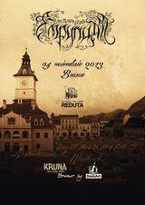 Concert Empyrium la Brasov, la Centrul Cultural Reduta, pe 24 noiembrie
