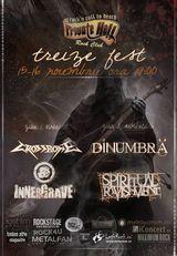 TREIZE FEST II - Spiritual Ravishment, Innergrave, DinUumbra si Crossbone, 15-16 noiembrie in Private Hell