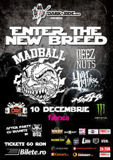 Concert Madball, Deez Nuts, Your Demise si Nasty pe 10 Decembrie