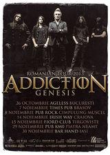 Concert Addiction la Brasov, in Times Pub, pe 7 Noiembrie