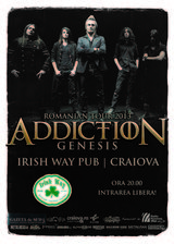 Concert Addiction la Craiova, in Irish Way Pub, pe 14 noiembrie