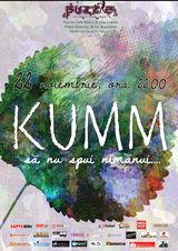 Concert KUMM: Sa nu spui nimanui - vineri, 22 noiembrie in Puzzle Cafe-Bistro