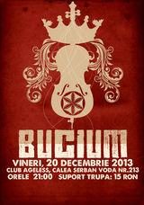 Concert Bucium pe 20 decembrie la Ageless Club