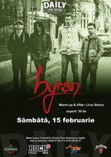 Concert byron in Galati