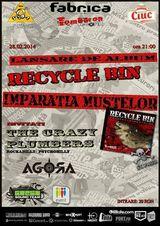 Lansare album nou Recycle Bin in club Fabrica