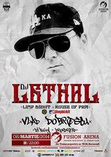 DJ Lethal(Limp Bizkit) la Fusion Arena Bucuresti