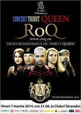 Concert tribut Queen la Clubul Taranului din Bucuresti.