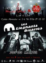 Concert Les Elephants Bizarres la Euphoria Music Hall din Cluj Napoca