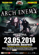Concert Arch Enemy in mai la Bucuresti