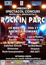 Inscrieri pana pe 15 martie la preselectia a doua Festival Rock in Parc