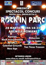 Preselectii Rock in Parc