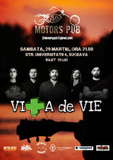 Concert Vita de Vie in 31 Motor's Pub din Suceava