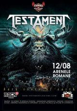 Concert Testament in august la Arenele Romane